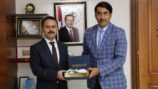 HAK-İŞ Konfederasyon Vali Aktaş'a Ziyaret