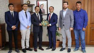 Kozaklı TÜGVA'dan Nevşehir Valisi Aktaş'a Ziyaret