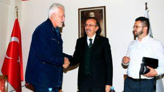 Bosna Hersek Hadziçi Belediye Başkanı Ve Meclis Üyeleri Seçen'i Ziyaret Etti