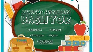 Nevşehir Tügva (Türk Gençlik Vakfı) Akademik Kursları Başlıyor