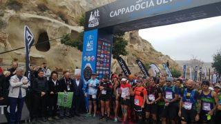 Nevşehir 'de Salomon Kapadokya Ultra Trail 2018 Yarışmaları Start Aldı
